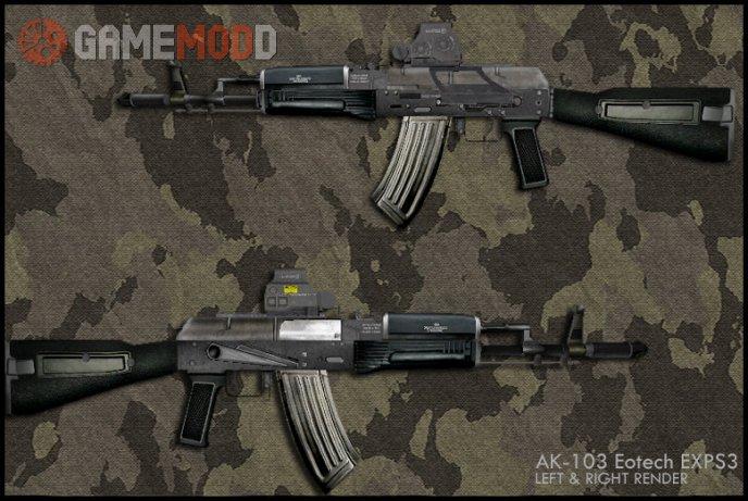 AK-103 Eotech EXPS3