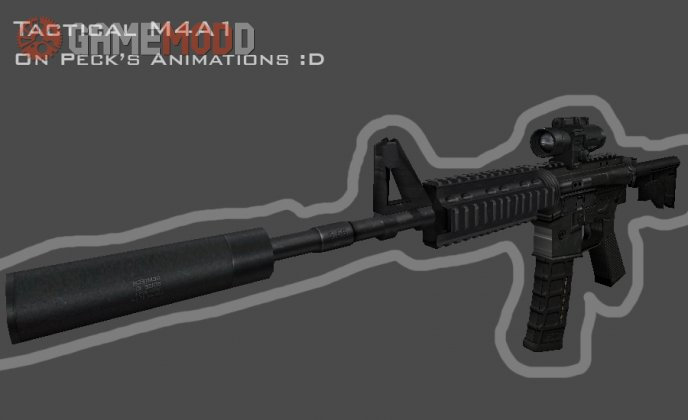Tactical M4A1 on Peck's Animations