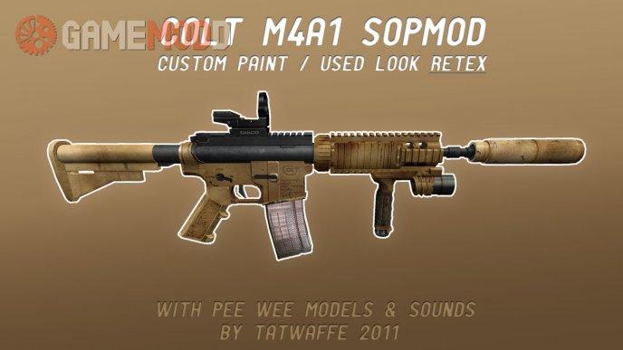 M4A1 SOPMOD RETEX