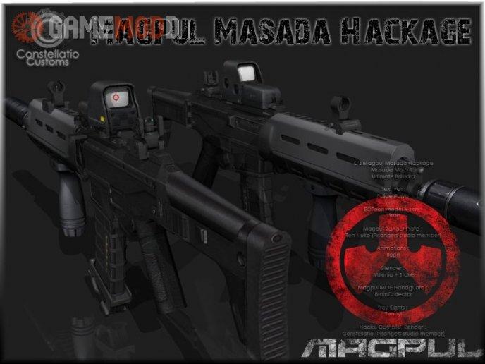 Magpul Masada Hackage
