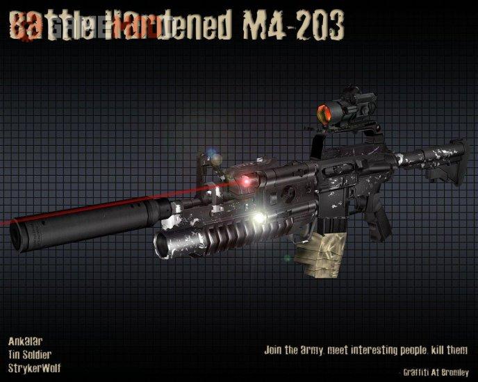 Battle Hardened M4-203