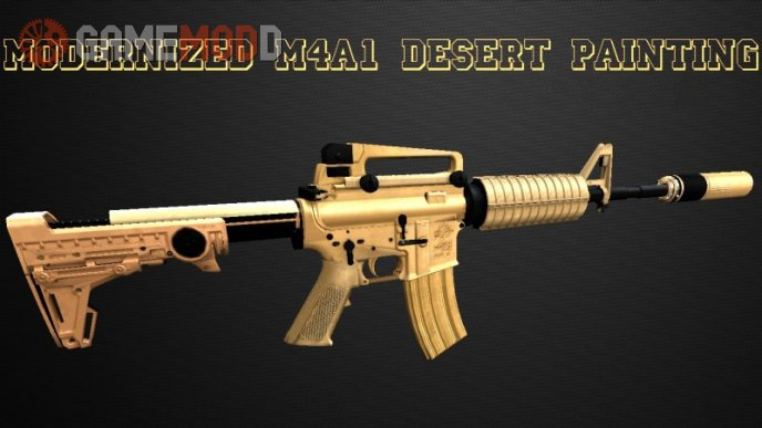 Modernized M4A1 Desert Edition