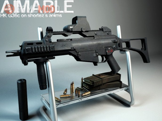 BrainCollector's Aimable HK G36c Animations