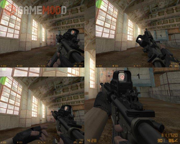 MW2 M4A1 SOPMOD Remake