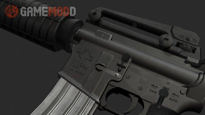 Colt M4 On ManTuna Animations