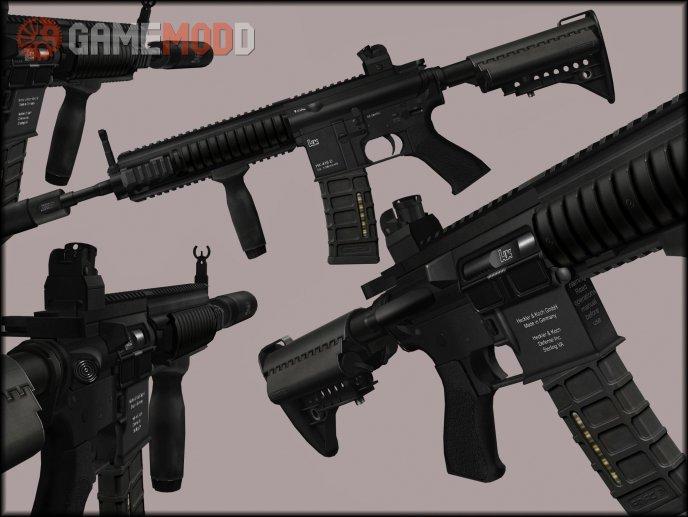 Twinke Masta HK416 On New Animations
