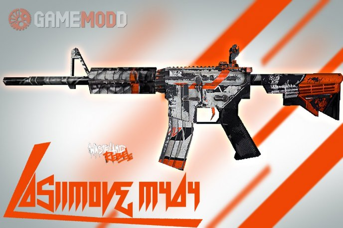 M4a4Asiimov (Battle-Scarred)