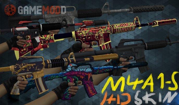 M4a1-s Skin HD pack