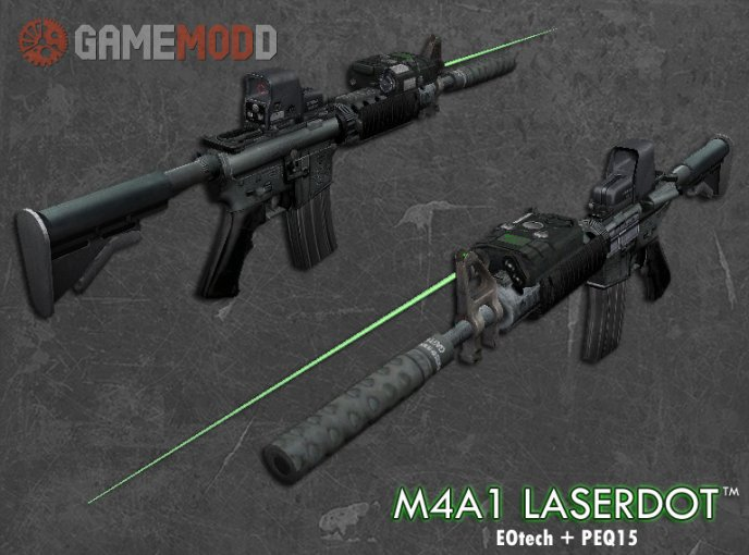 M4A1 Laserdot