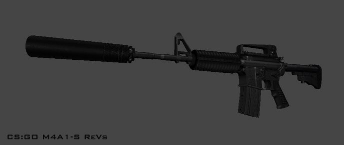 CSGO M4A1-S Rev. B