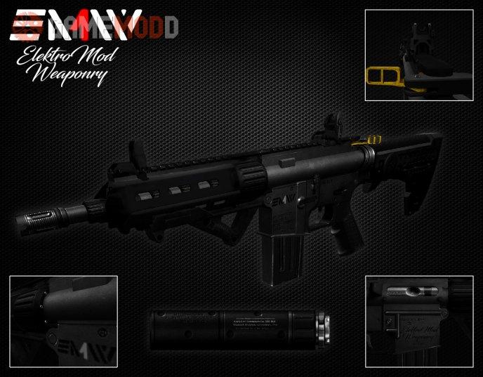 ElektroMod Weaponry EMW-17