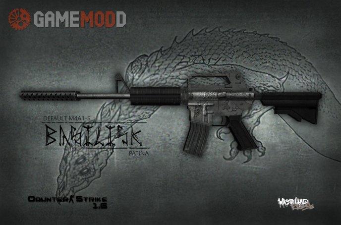 Default M4A1 Basilisk