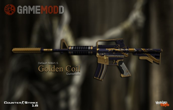 Default M4A1-S Golden Coil
