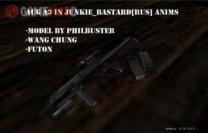 AugA3 in Junkie_Bastard[RuS]Anims(Black version)