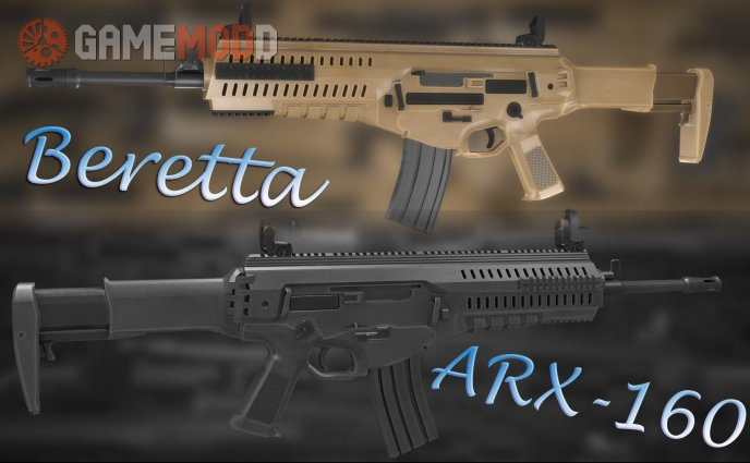 Mirza's Beretta ARX-160 On Dblazz's CZ-805 Bren