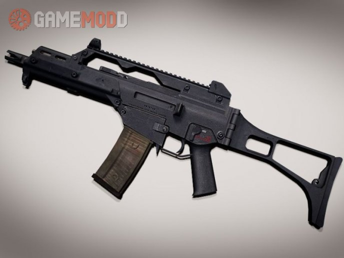 TheLama HK G36C on Brain Collector anims