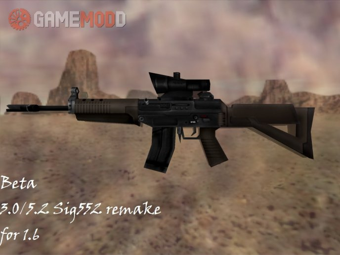 Beta 3.05.2 Sig 552 Remake for 1.6