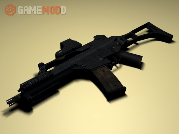 TheLama's G36C On UncleGAY Animations(CS Ver)