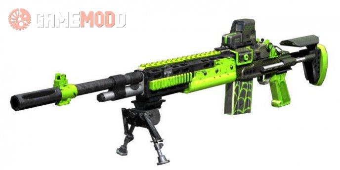 M14 EBR Eotech Venom