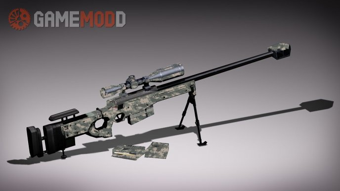 AW.50 GuiiiGalol rig's with snow camo textures
