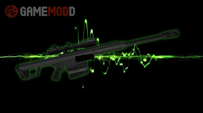 Barrett M82 on MW2 style anims