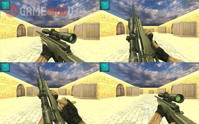 Point Blank L115A1
