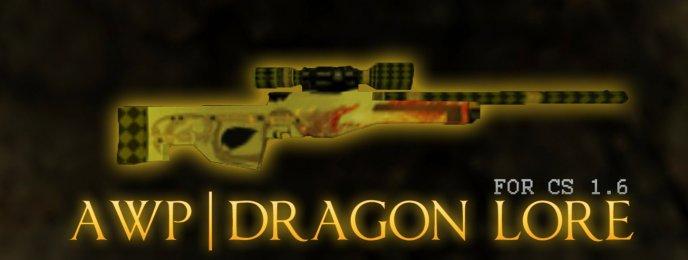 CS 1.6 AWP Dragon Lore v1