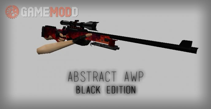 Abstract AWP Black Edition [Re-Textured]
