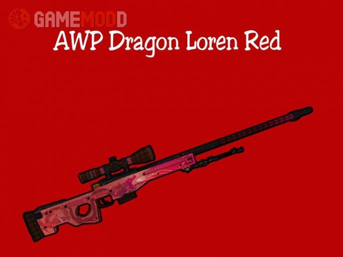 AWP Dragon Lore Red