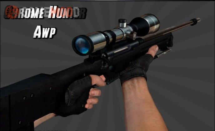 Chrome Hunter AWP