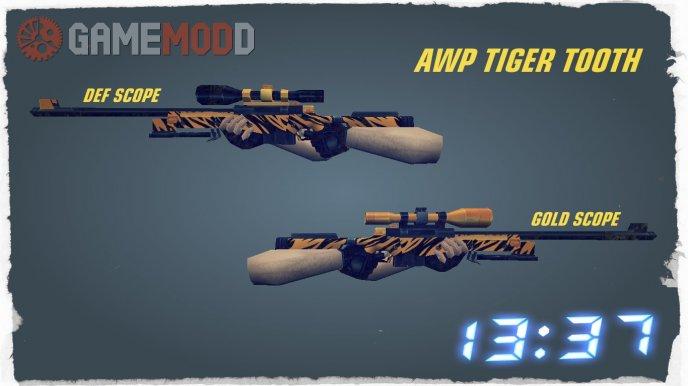 AWP Tiger Tooth