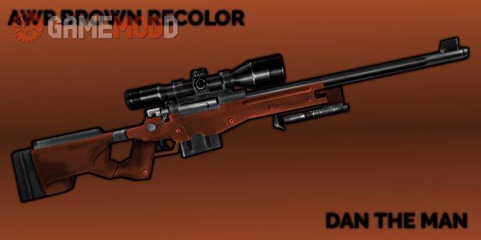 Default AWM Brown Recolor w Minor Anim Fix