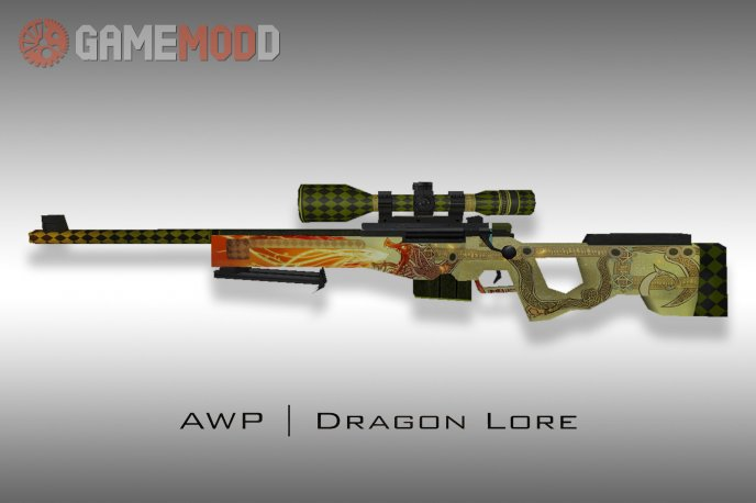 Default AWP Dragon Lore