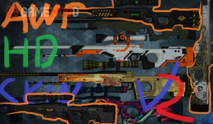 CS:GO AWP HD Skin pack