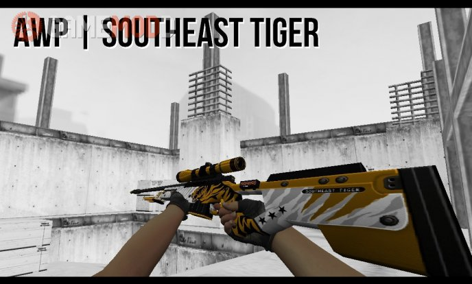 AWP Southeast Tiger on Gooseman's (CSGO) AWP