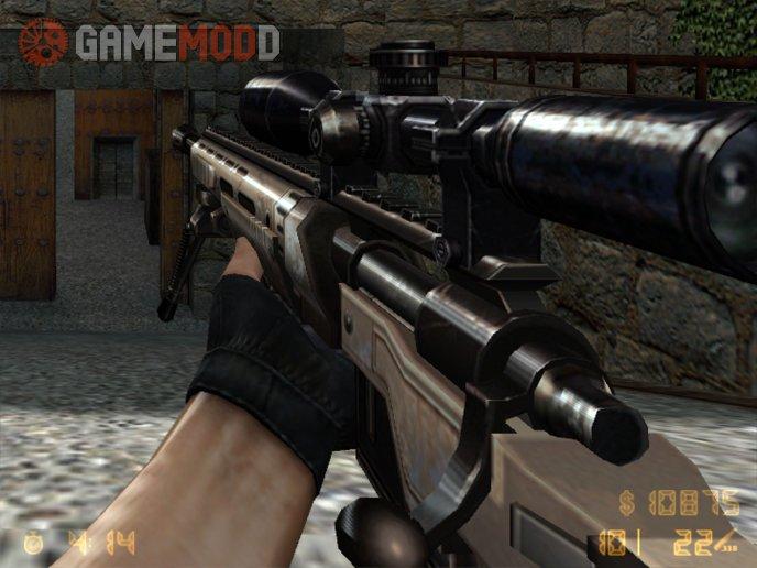 CSO XM2010 Sniper to AWP