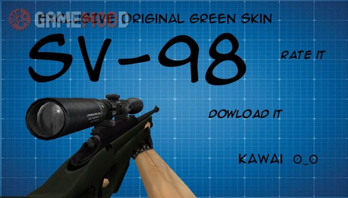 [AVA]SV-98 for AWP