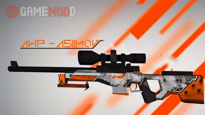 Asiimov - AWP (Battle-Scarred)