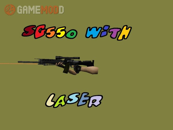 SG550 With Laser