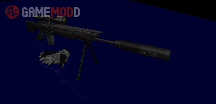 Sig SG-556 on Hyper3D's anims