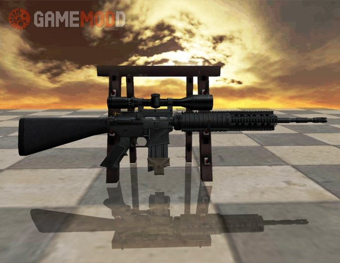 AR-10 On Battlefield 3