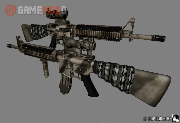 Arsenal Level Difficulty M16 BF3 Style on Lynx9810