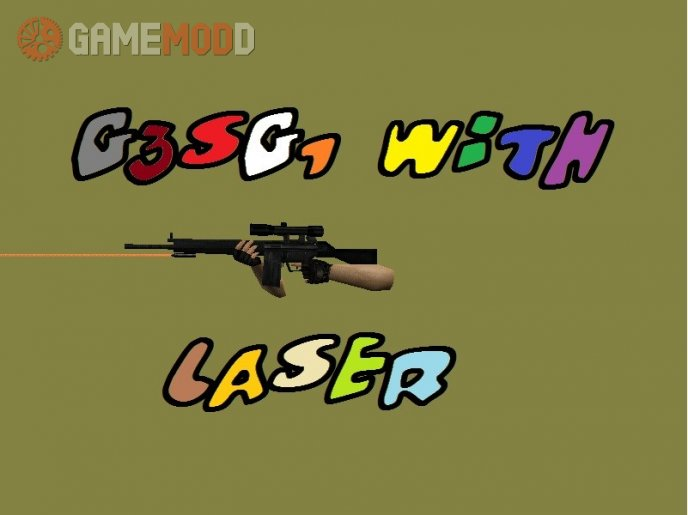 G3SG1 with Laser