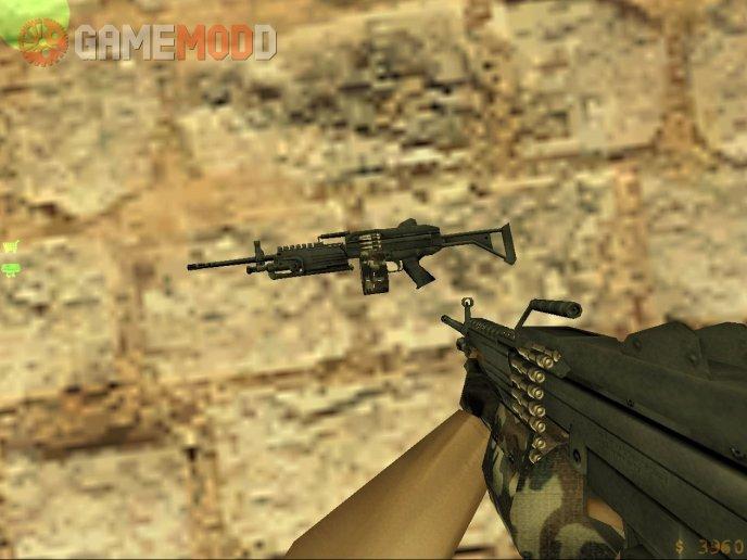Black Hawk Down M249