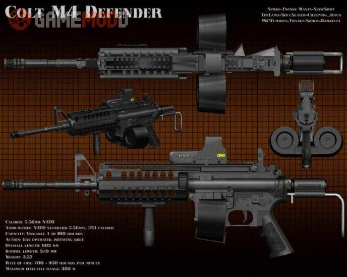 Colt M4 Defender