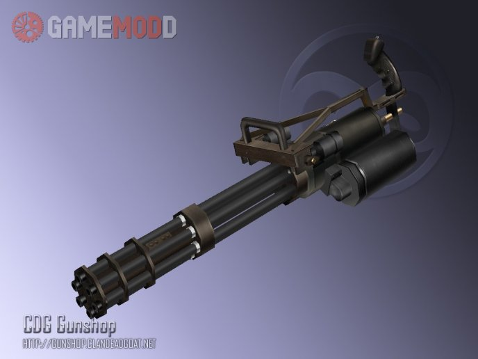 M134 Vulcan Minigun Re-Animated