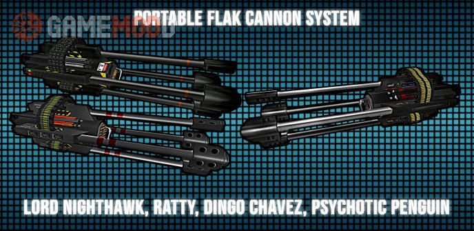 Portable Flak-Cannon System