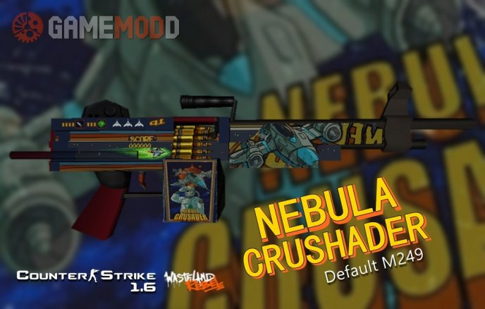Default M249 Nebula Crusader