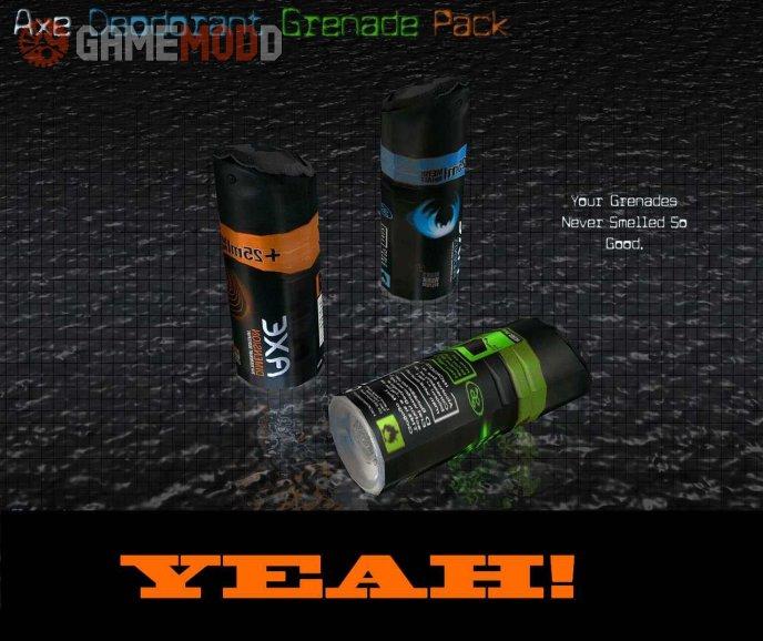 Axe Deodorant Grenade Pack