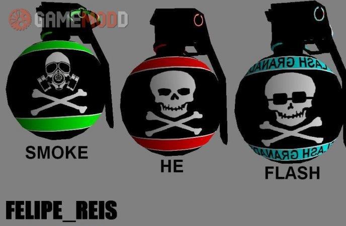 Skull Grenade Pack